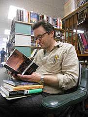Author photo. Wave Books