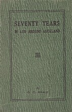 Seventy Years In and Around Auckland by G.…
