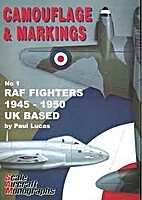 Camouflage & Markings No 1 RAF Fighters 1945…