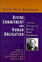 Divine Commitment and Human Obligation:…