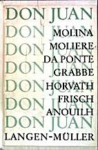 Don Juan Molina, Moli♯re, Da Ponte,…