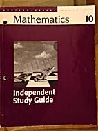 Addison-Wesley mathematics 10. Independent…