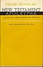 New Testament Apocrypha, Volume 1 by Wilhelm…
