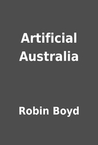 Artificial Australia by Robin Boyd
