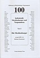 100 bedeutende Mecklenburger und Vorpommern…