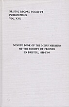 Minute book of the men's meeting of the…