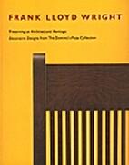 Frank Lloyd Wright by David A. Hanks