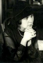 Author photo. Portrait by Rodchenko