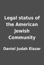 Legal status of the American Jewish…