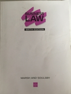 Business Law by S.B. Marsh