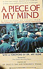 A Piece of My Mind: A Collection of Essays…