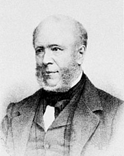 Author photo. Everhardus Johannes Potgieter. Lithograph by P. Blommers after a portrait by N.J.W. de Roode, before 1875. Wikimedia Commons.
