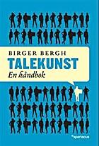 Talekunst : en håndbok by Birger Bergh