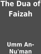 The Dua of Faizah by Umm An-Nu'man