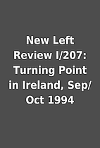 New Left Review I/207: Turning Point in…