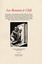 Les Romans à clefs by Colloque des…