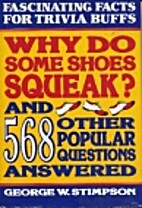 Why Do Some Shoes Squeak and 568 Other…