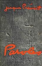 Paroles by Jacques Prévert