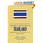 Historical Dictionary of Thailand…