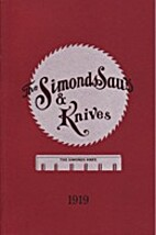 The Simonds Saws & Knives 1919