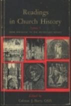 Readings in church history by Colman James…