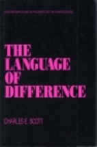 The Language of Difference (Contemporary…