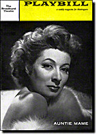 Auntie Mame playbill by Playbill