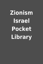 Zionism Israel Pocket Library