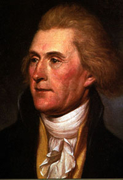 Author photo. Portrait by Charles Wilson Peale, 1791. Via <a href=http://commons.wikimedia.org/wiki/Image:Thomas_Jefferson_rev.jpg&quot;>Wikimedia Commons</a>