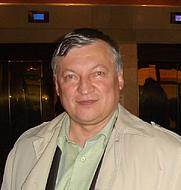 Author photo. Anatoly Karpov