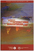 Respect for international humanitarian law…