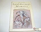 Memoirs by Lord John Hervey