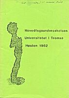 Hovedfagsundersøkelsen Universitetet i…