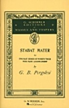 Stabat Mater [vocal score, female voices] by…