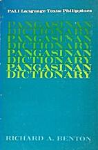 Pangasinan Dictionary (PALI Language Texts:…