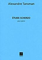 Étude-Scherzo by Alexandre Tansman