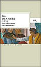 Orazioni giudiziarie by Lysias