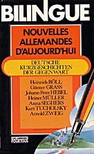 Nouvelles allemandes d'aujourd'hui by Johann…