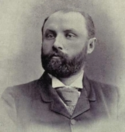 Author photo. Photographer: William Cochrane, 1831-1898