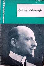 Gabriele d'Annunzio by J.E. van Ackere