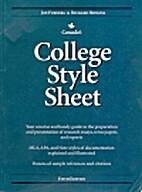 College Style Sheet by Jon Furberg