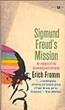Sigmund Freund's mission : an analysis of…