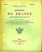 Histoire de France depuis les origines…