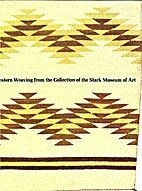 Southwestern weaving from the collection of…