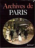 Archives de paris. by Collectif