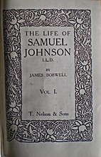 The life of Samuel Johnson, LL.D, vol. 1 by…