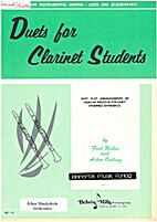 Duets for clarinet students by Fred Weber…