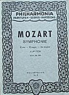 Symphonie C-dur by W. A. Mozart
