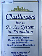 Challenges for a service system in…