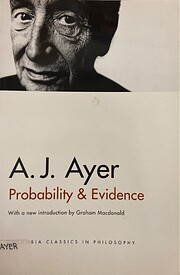 Probability & Evidence by A. J. (Alfred…